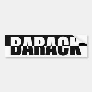 Black & White Barack Obama Bumper Sticker