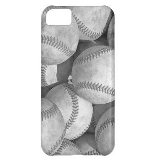 Black & White Baseball iPhone 5C Cases