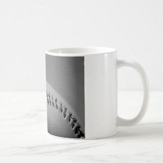Black & White Baseball Coffee Mug