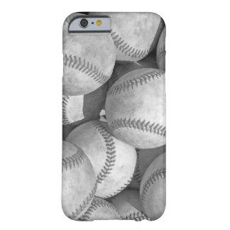 Black & White Baseball iPhone 6 Case