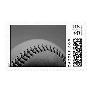 Black & White Baseball Stamps