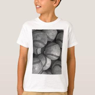 Black & White Baseball T-Shirt