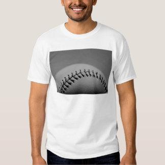 Black & White Baseball Tee Shirt