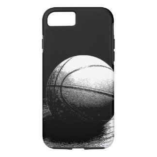 Black White Basketball Art iPhone 8/7 Case