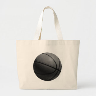 Black & White Basketball Jumbo Tote Bag
