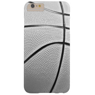 Black & White Basketball Barely There iPhone 6 Plus Case