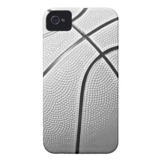 Black & White Basketball iPhone 4 Cover