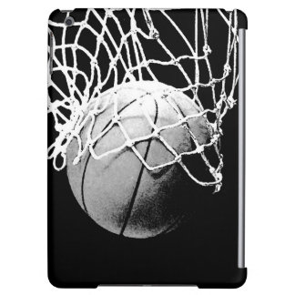 Black & White Basketball Case For iPad Air