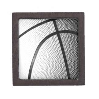 Black & White Basketball Gift Box