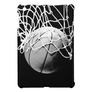 Black & White Basketball iPad Mini Cover