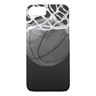 Black & White Basketball iPhone 7 Case