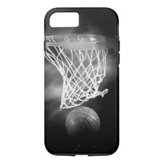 Black & White Basketball iPhone 8/7 Case