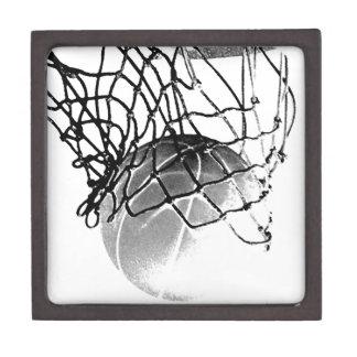 Black & White Basketball Jewelry Box