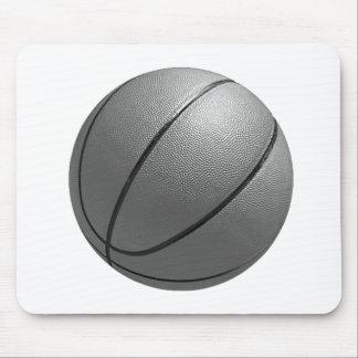 Black & White Basketball Mouse Pad