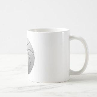 Black & White Basketball Mug