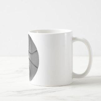 Black & White Basketball Classic White Coffee Mug