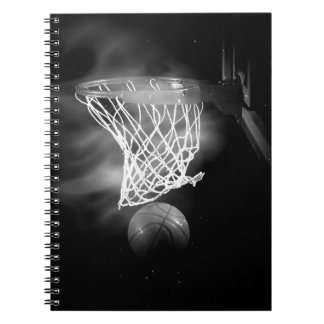 Black & White Basketball Notebook