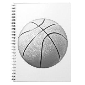Black & White Basketball Notebook