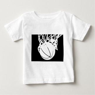 Black & White Basketball Silhouette Shirt