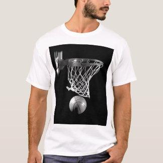Black & White Basketball T-Shirt
