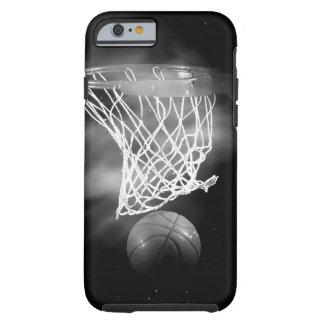 Black & White Basketball Tough iPhone 6 Case