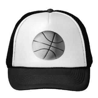 Black & White Basketball Trucker Hat
