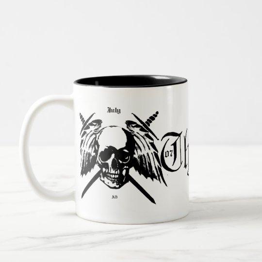 black white bastards mug