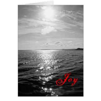 Black & White Bay Holiday  Card