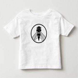 black&white bee toddler t-shirt