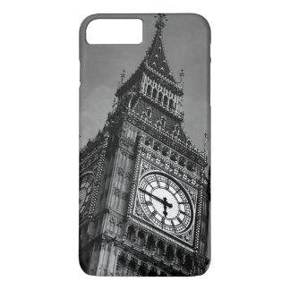 Black & White Big Ben Clock Tower iPhone 7 Plus Case