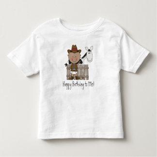 Black & White Birthday Pony - Boys Tee Shirts