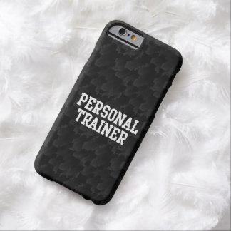 Black/White Block Personal Trainer Barely There iPhone 6 Case
