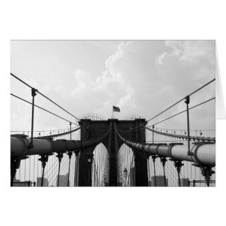 Black & White Bridge Card