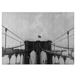 Black & White Bridge Cutting Board