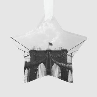 Black & White Bridge Ornament