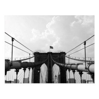 Black & White Bridge Postcard