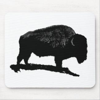 Black & White Buffalo Mouse Pad