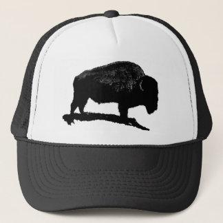 Black & White Buffalo Trucker Hat