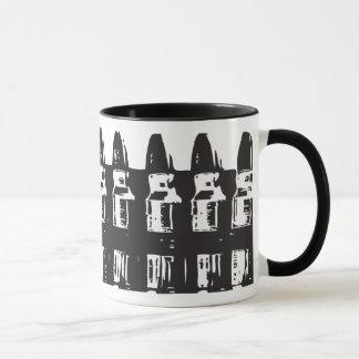 Black & White Bullet Mug