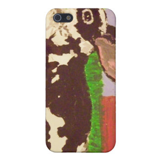 Black & White Bunny I-Phone 4S Case