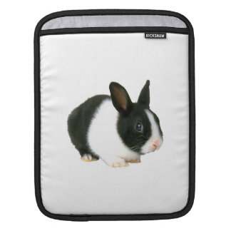 Black & White Bunny Rabbit Rickshaw Sleeve