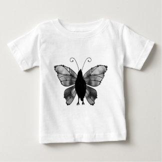 Black & White Butterfly Raven Baby T-Shirt
