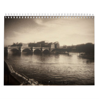 Black & White by Scott S. Jones Wall Calendars