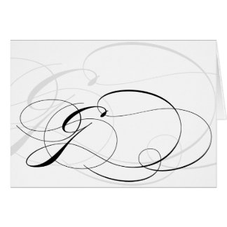 Calligraphy G Gifts On Zazzle