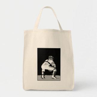 Black & White Catcher Tote Bag