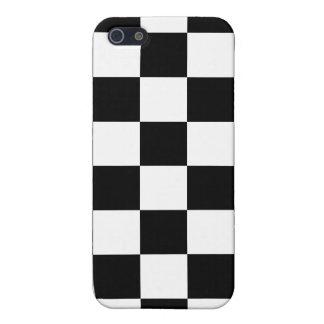 Black & White Checkered iPhone 4 Case