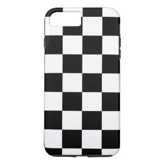 Black & White Checkered Pattern iPhone 7 Plus Case