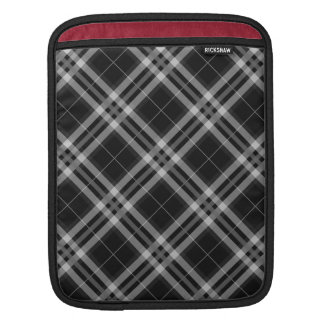 Black & White Checks iPad Sleeve