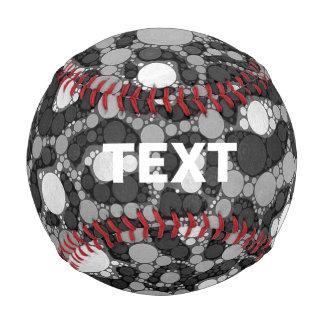 Black White Cheetah Baseball