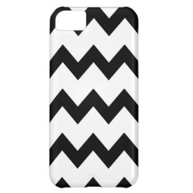 Black White Chevrons Case Case For iPhone 5C